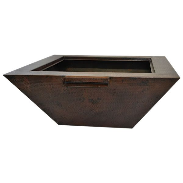 Sedona Copper Gas Fire & Water Bowl image number 0