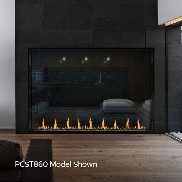 Montigo Prodigy See Through Direct Vent Gas Fireplace image number 1