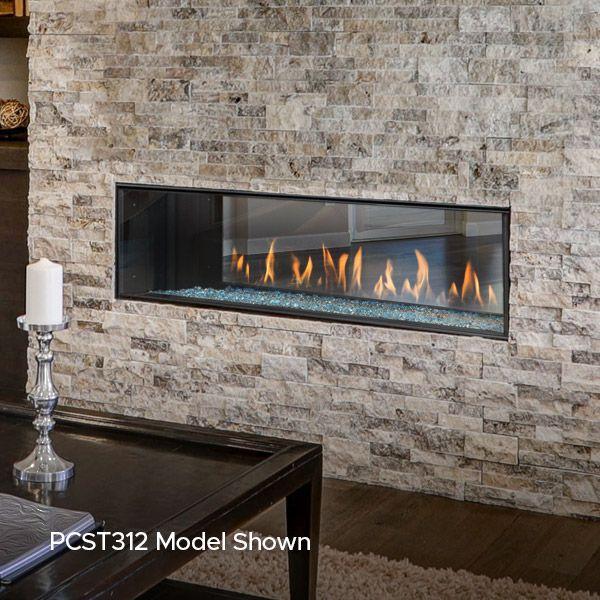 Montigo Prodigy See Through Direct Vent Gas Fireplace image number 2