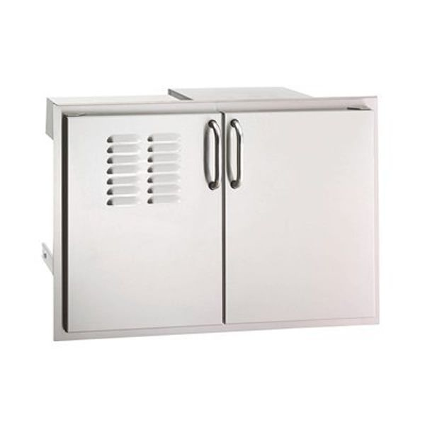 Fire Magic Select Double Doors with Dual Drawers, Trash Tray & Louvers image number 0