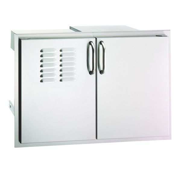 Fire Magic Select Double Doors with Dual Drawers & Trash Tray image number 0