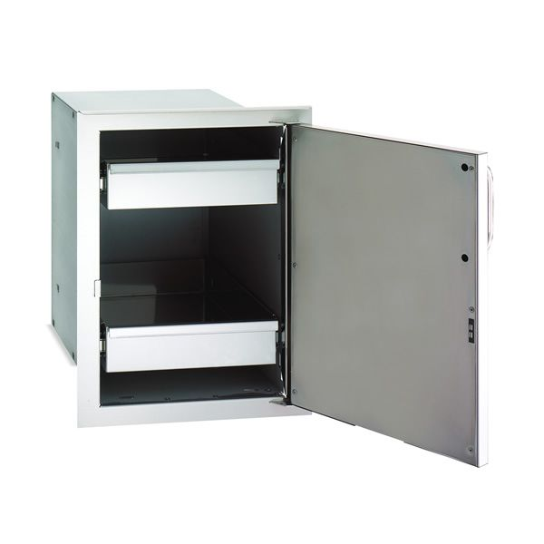 Fire Magic Select Single Door with Dual Drawers - Right Hinge image number 0