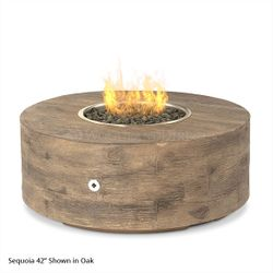 Sequoia Gas Fire Pit - Low Profile