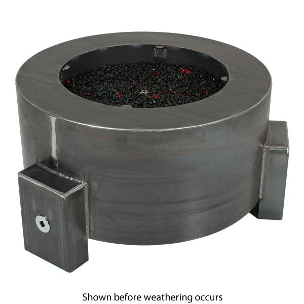 """Sere Fia Steel Gas Fire Pit - 30"""" image number 1"""