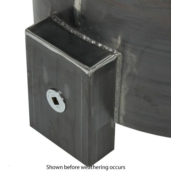 """Sere Fia Steel Gas Fire Pit - 30"""" image number 2"""