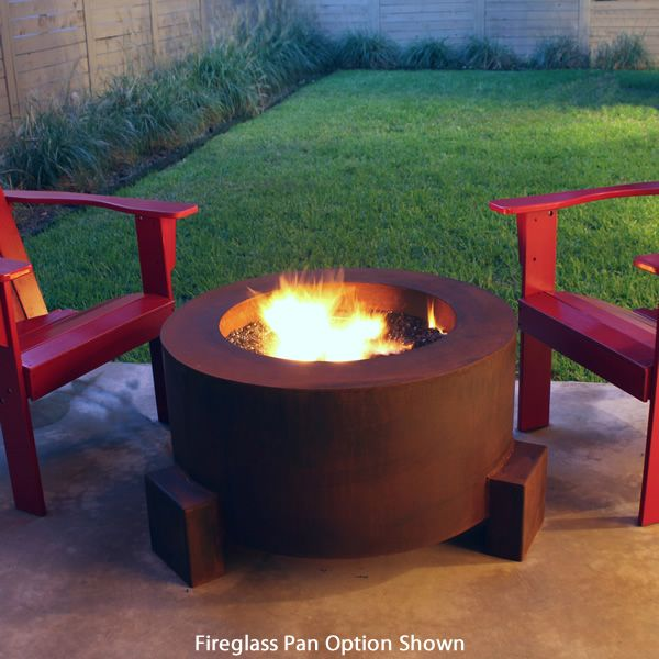 "Sere Fia Steel Wood Burning Fire Pit - 30"" image number 0"