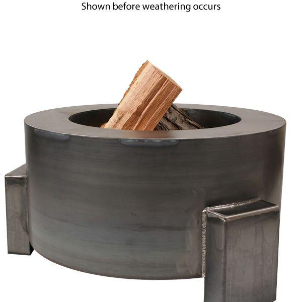 "Sere Fia Steel Wood Burning Fire Pit - 30"" image number 1"