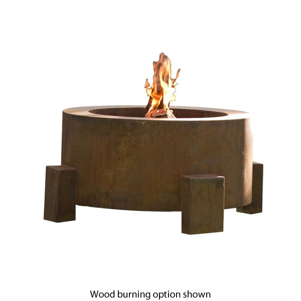 "Sere Fia Steel Gas Fire Pit - 38"" image number 0"