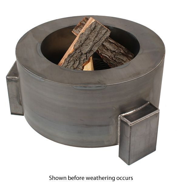 "Sere Fia Steel Wood Burning Fire Pit - 38"" image number 2"