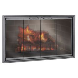 Shadow ZC Fireplace Glass Door