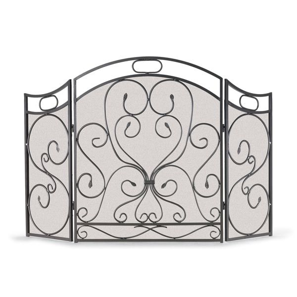 Shakespeare's Garden Three Panel Fireplace Screen image number 0