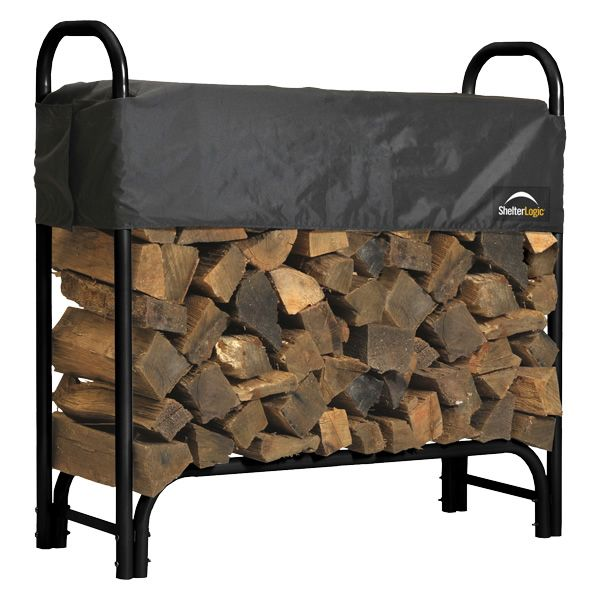 ShelterLogic Firewood Rack with Cover - 4' image number 0