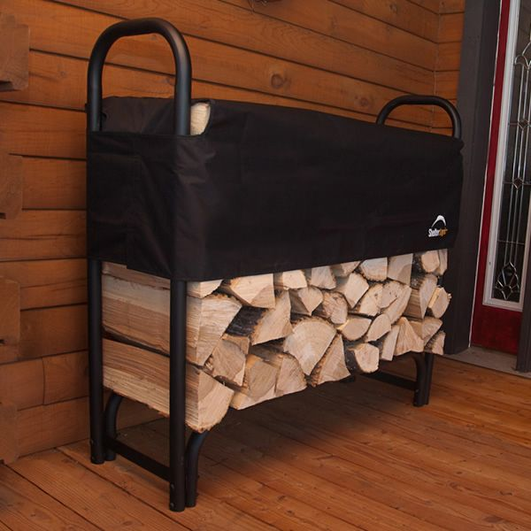 ShelterLogic Firewood Rack with Cover - 4' image number 1