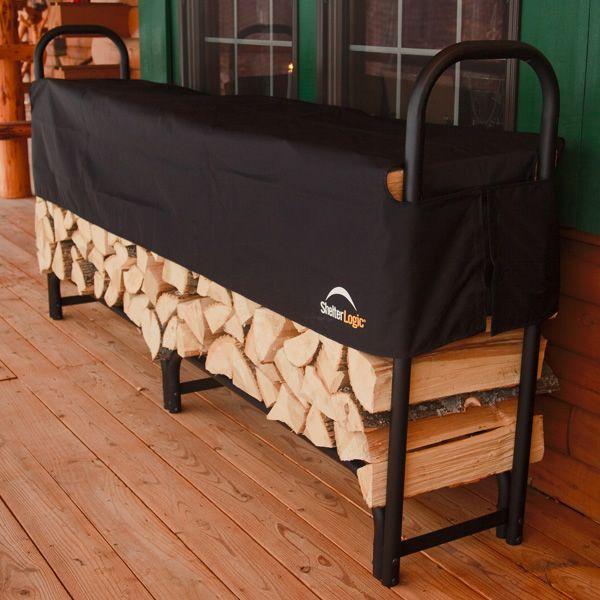 ShelterLogic Firewood Rack with Cover - 8' image number 1