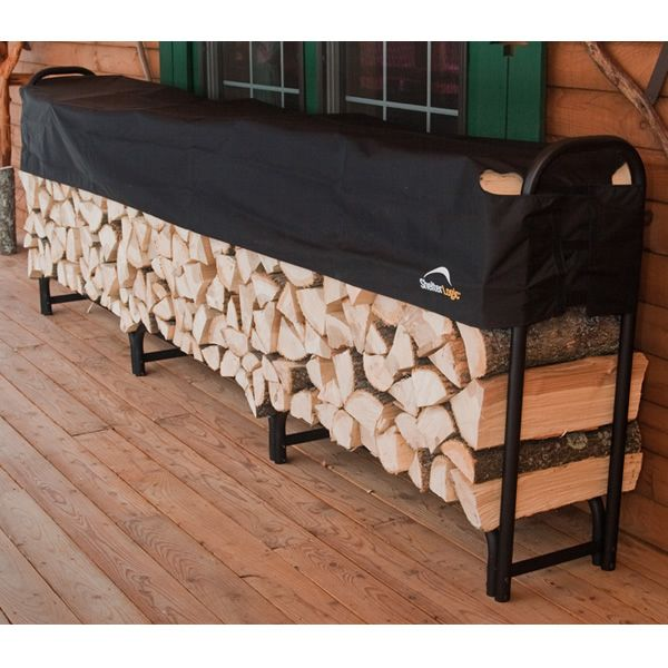 ShelterLogic Firewood Rack with Cover - 12' image number 1