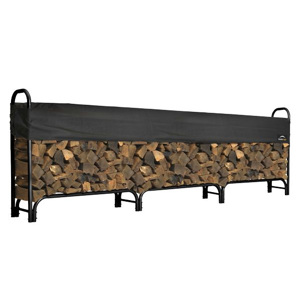 ShelterLogic Firewood Rack with Cover - 12' image number 0