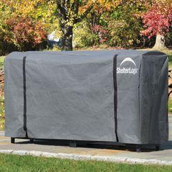 ShelterLogic 8' Universal Full Length Firewood Rack Cover