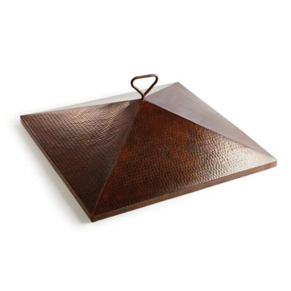 "Sierra Copper Fire Bowl Cover - 26"" image number 0"