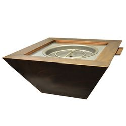 Sierra Copper Gas Fire & Water Bowl
