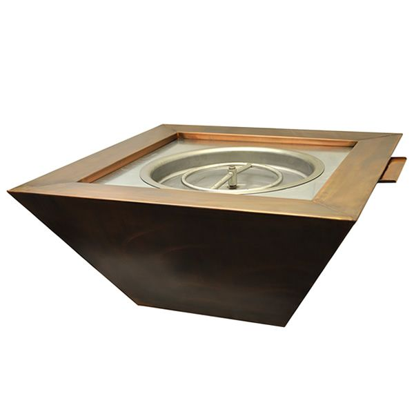 Sierra Copper Gas Fire & Water Bowl image number 0
