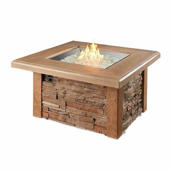 Sierra Square Fire Pit Table image number 1