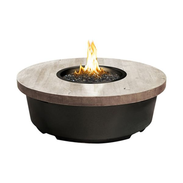 Silver Pine Contempo Gas Fire Pit Table - Round image number 0