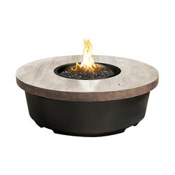 Silver Pine Contempo Gas Fire Pit Table - Round