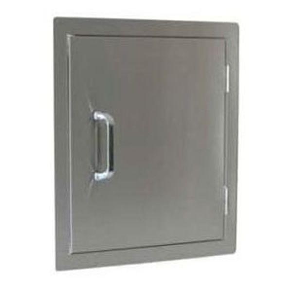 "Single Stainless Steel Door - 18"" x 22"" image number 0"