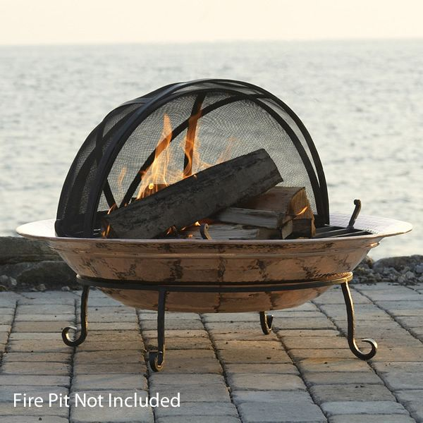 Spark Screen For Extra Large Fire Pit image number 3