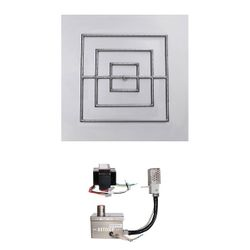 """Square Quick Ship Drop-In Burner System - 36"""" Electronic"""