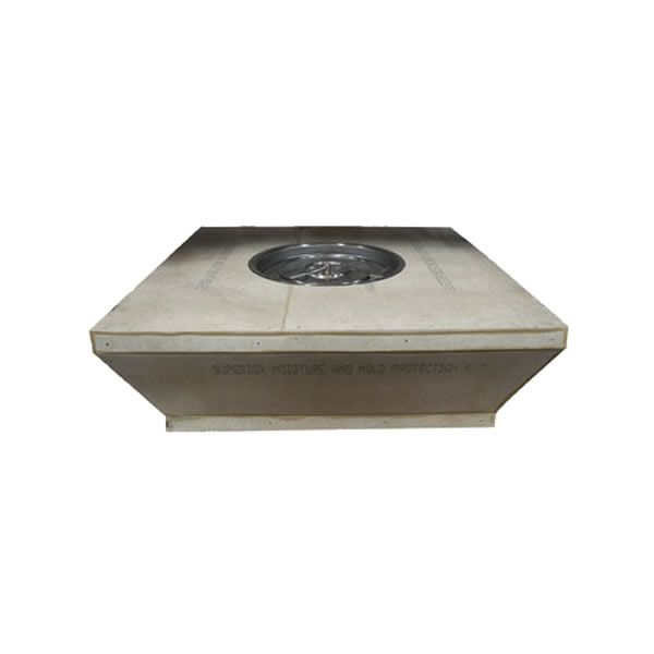"Tapered Square Unfinished Outdoor Gas Fire Pit - 60"" image number 0"