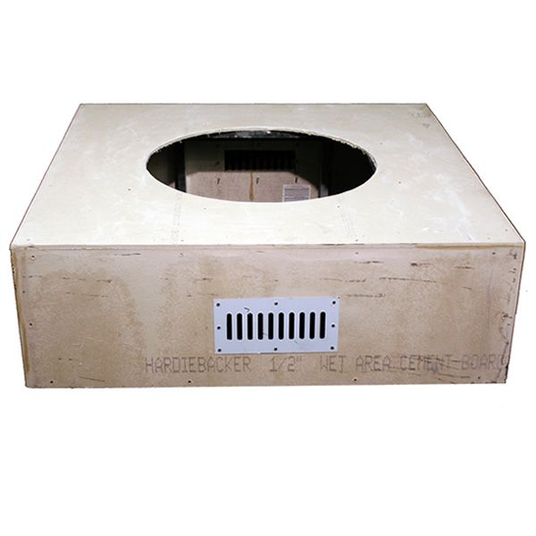 """Square Unfinished Gas Fire Pit - 45"""" image number 0"""