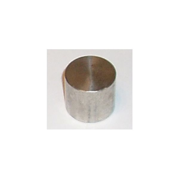 """Stainless Steel Brass 3/8"""" Cap image number 0"""