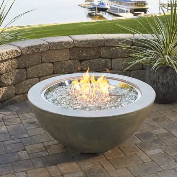 "Stainless Steel Crystal Fire Burner - 30"" image number 1"