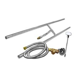 Stainless Steel H-Burner Kit - 48""