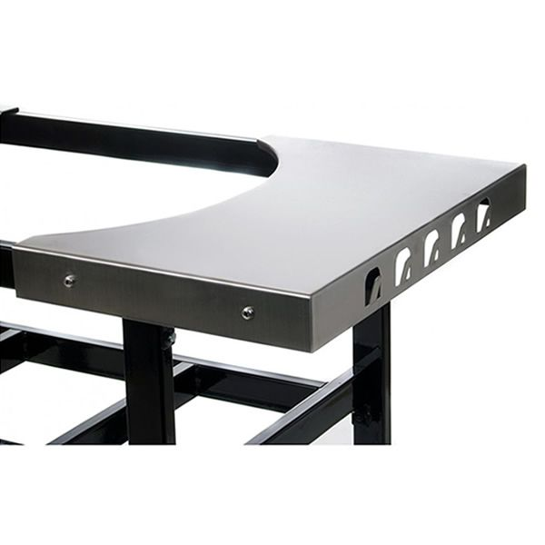 Stainless Steel Side Tables for Large Primo Cart image number 0