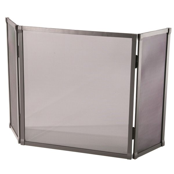 """Triple Panel Standard Fire Fireplace Screen - 52"""" x 30"""" image number 0"""
