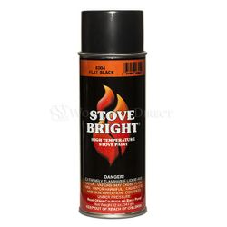 Stove Bright High Temperature Stove Paint - Flat Black