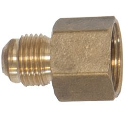 Straight Brass Fitting for Aluminum Gas Connector