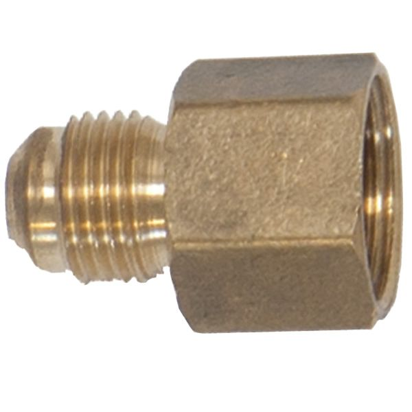 Straight Brass Fitting for Aluminum Gas Connector image number 0