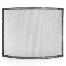 Stronghold Bowed Fireplace Screen