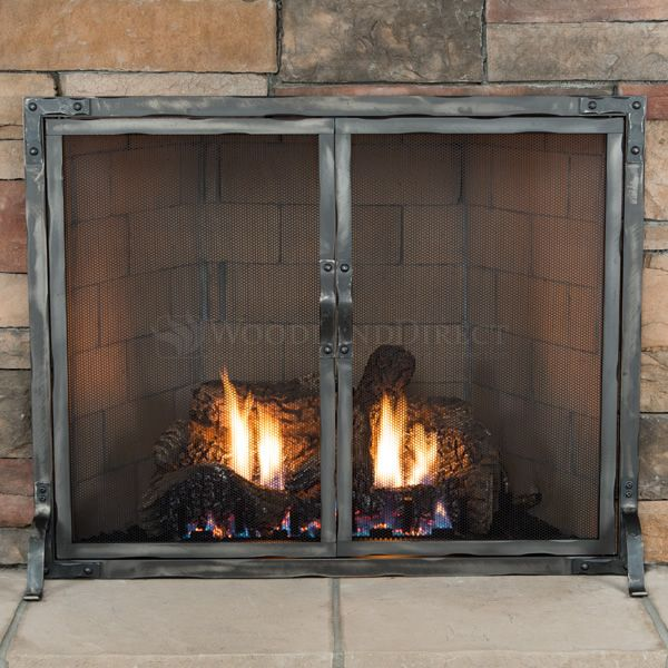 Stronghold Fireplace Screen with Doors image number 1