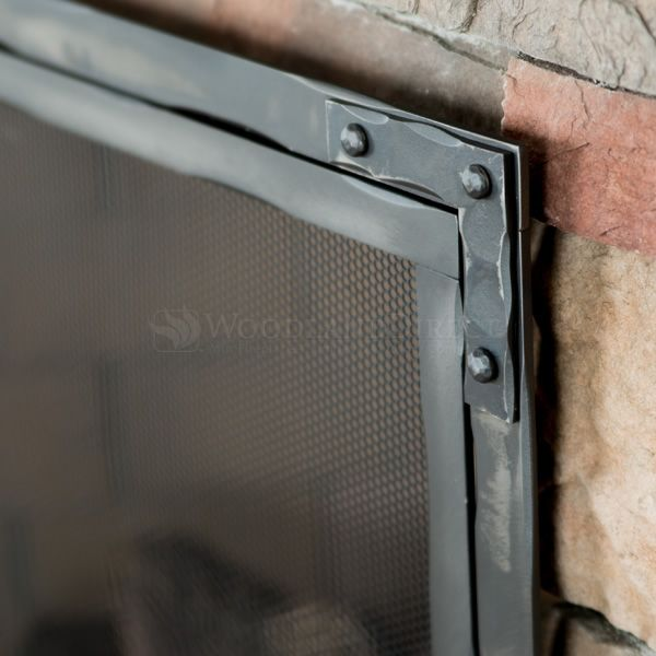 Stronghold Fireplace Screen with Doors image number 3