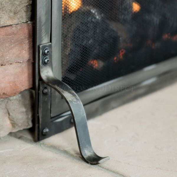 Stronghold Fireplace Screen with Doors image number 5