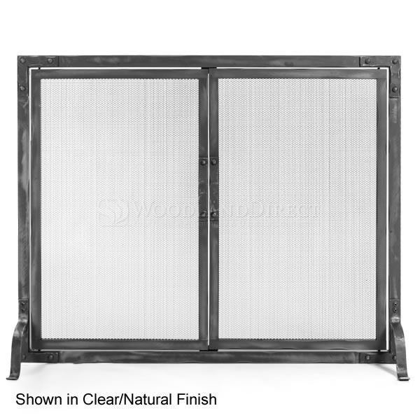 Stronghold Fireplace Screen with Doors image number 0