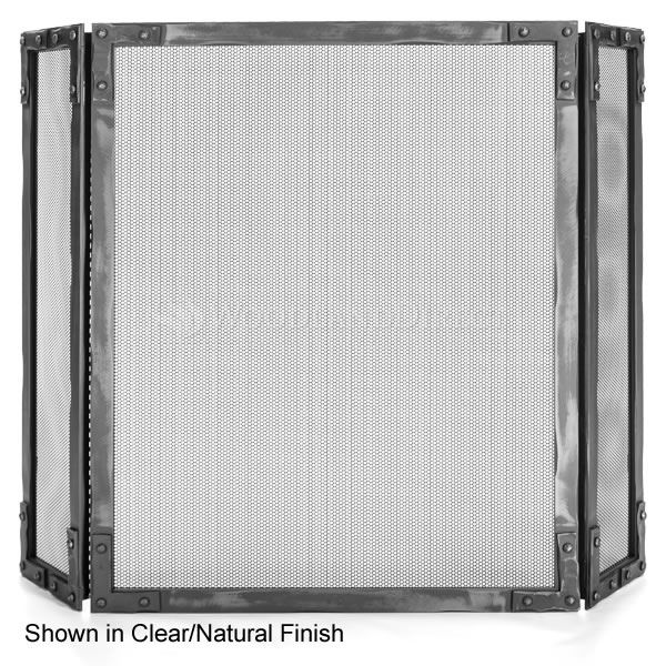 Stronghold Three Panel Fireplace Screen image number 0