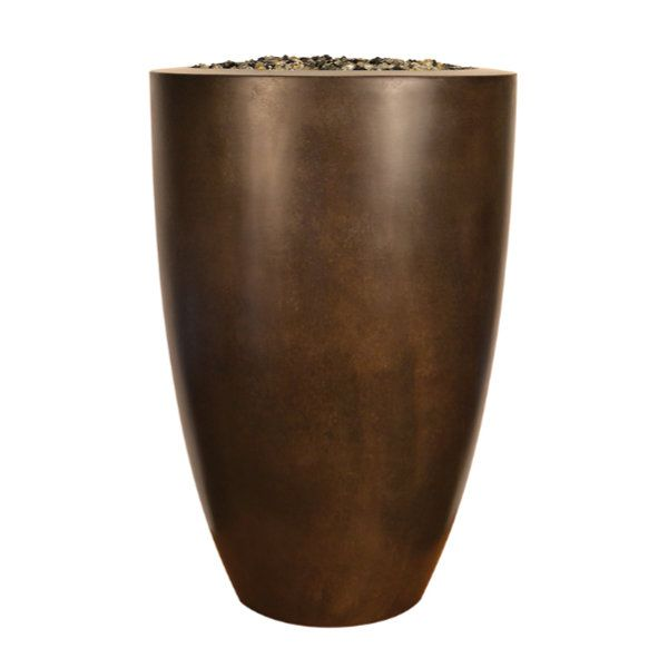 "Sumaco 24"" x 36"" Concrete Fire Bowl image number 0"