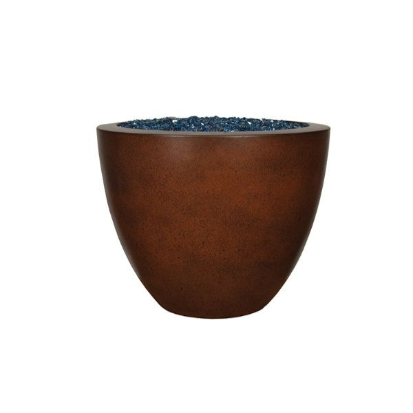 "Sumaco 30"" x 24"" Concrete Fire Bowl image number 0"