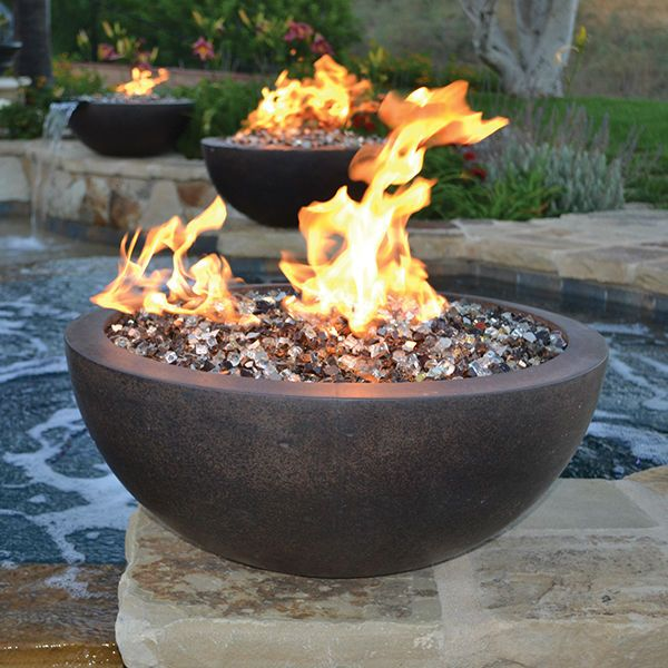 Sumaco Concrete Fire Bowl image number 0
