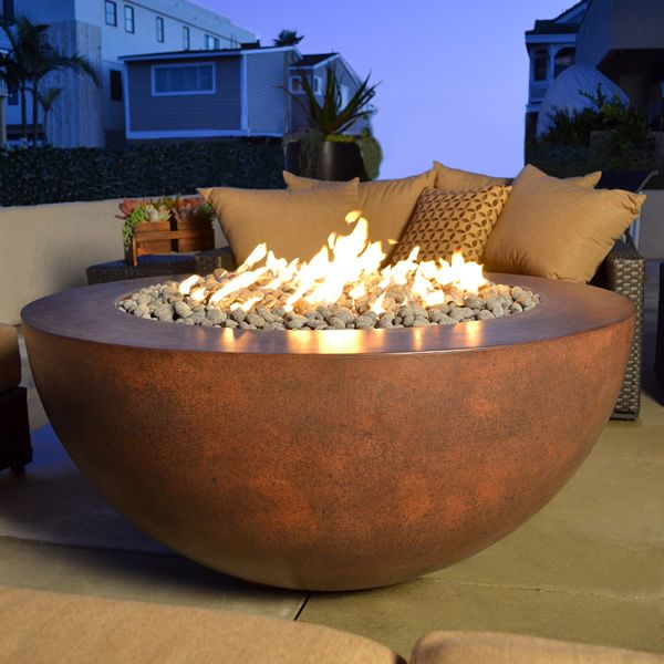 Sumaco Concrete Fire Pit image number 0